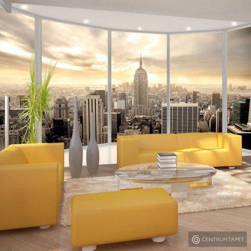 Fototapeta Słoneczny poranek w Nowym Jorku 10110904-40