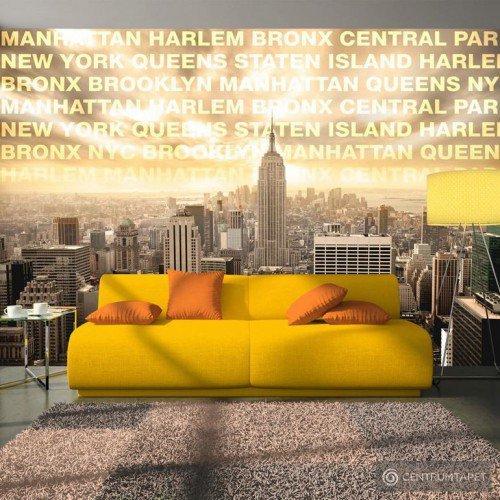 Fototapeta Dzielnice Nowego Jorku 10110904-48