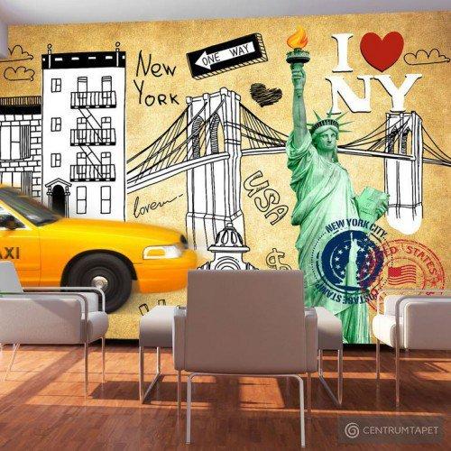 Fototapeta One way - New York 10110904-60