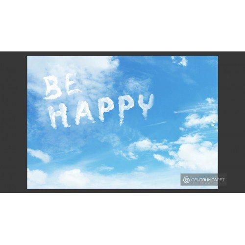 Fototapeta Be happy...