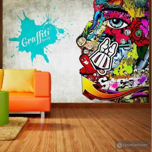 Fototapeta Graffiti beauty 10110905-65