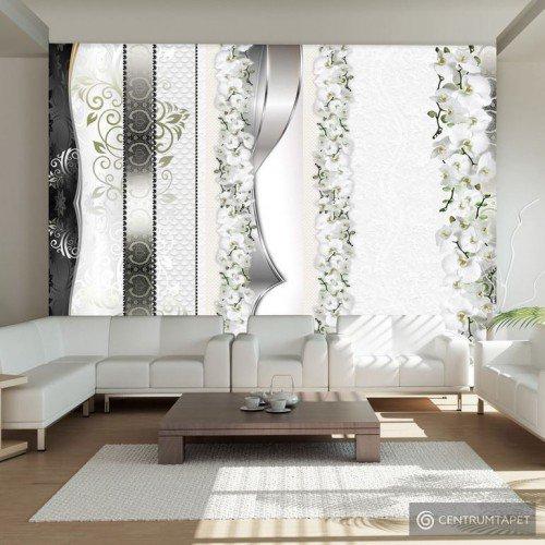Fototapeta Parada orchidei w odcieniach szarości 10110906-104