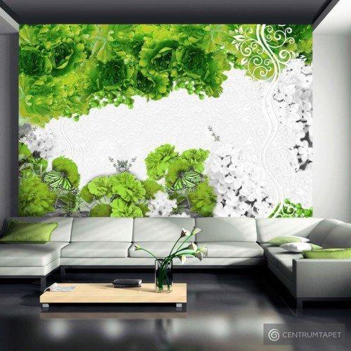 Fototapeta Kolory wiosny: zielony 10110906-111