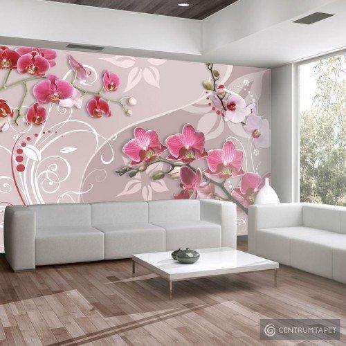 Fototapeta Lot różowych orchidei 10110906-33