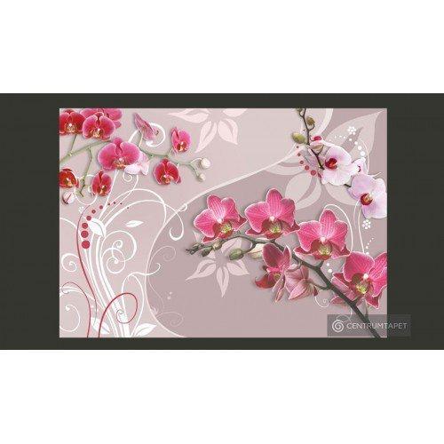 Fototapeta Lot różowych...