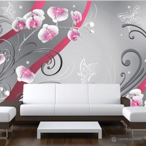 Fototapeta Różowe orchidee - wariacja 10110906-34