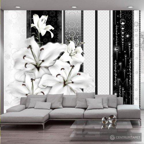 Fototapeta Płaczące lilie w bieli 10110906-98