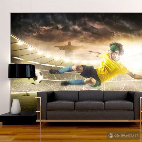 Fototapeta Brazylijski futbol 10120907-1