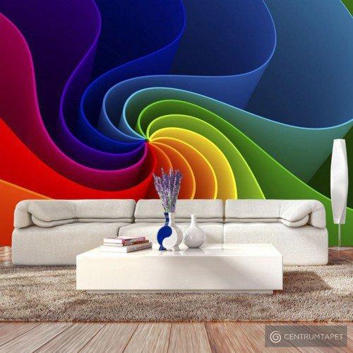 Fototapeta Kolorowy wiatraczek a-A-0180-a-a