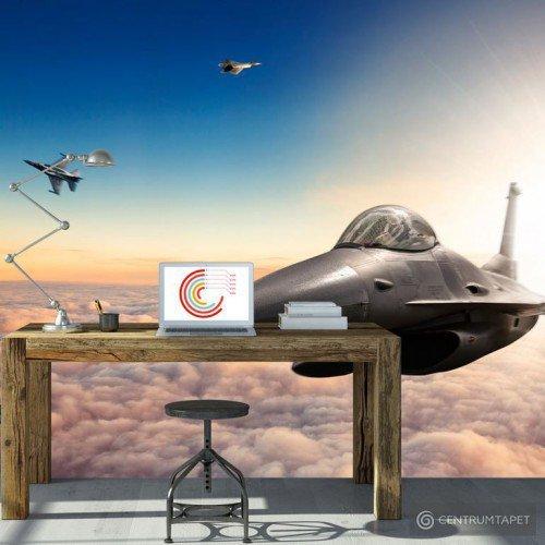 Fototapeta Myśliwce F16 e-A-0040-a-a