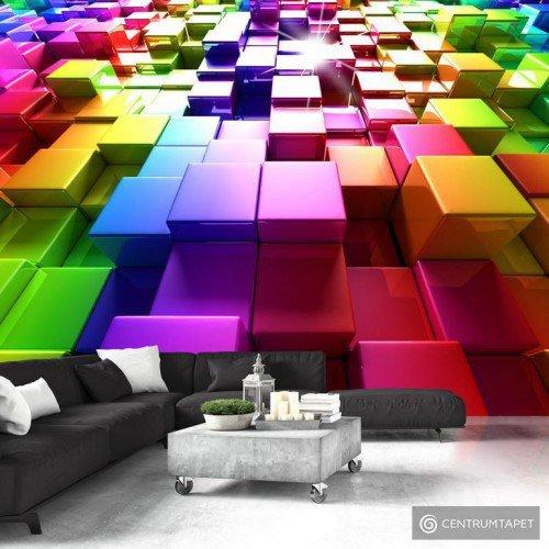 Fototapeta Kolorowe sześciany f-A-0349-a-a