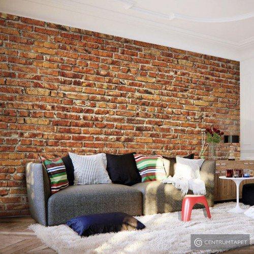 Fototapeta Ceglany mur f-B-0015-a-a