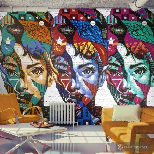 Fototapeta Kolorowe twarze h-A-0037-a-a