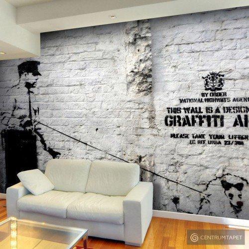 Fototapeta Banksy - Graffiti Area h-A-0042-a-a