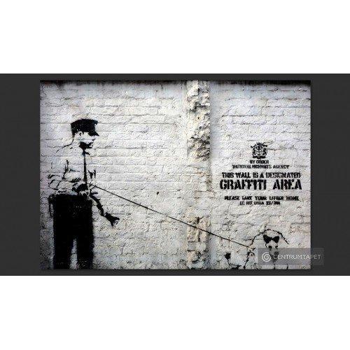 Fototapeta Banksy -...