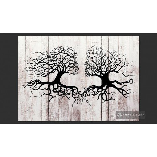 Fototapeta Pocałunek drzew...