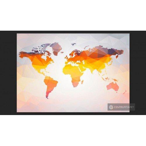 Fototapeta Mapa świata -...
