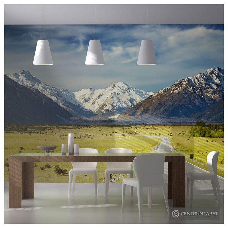 Fototapeta Southern Alps