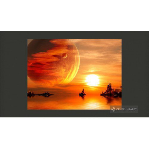 Fototapeta Fantasy sunset...