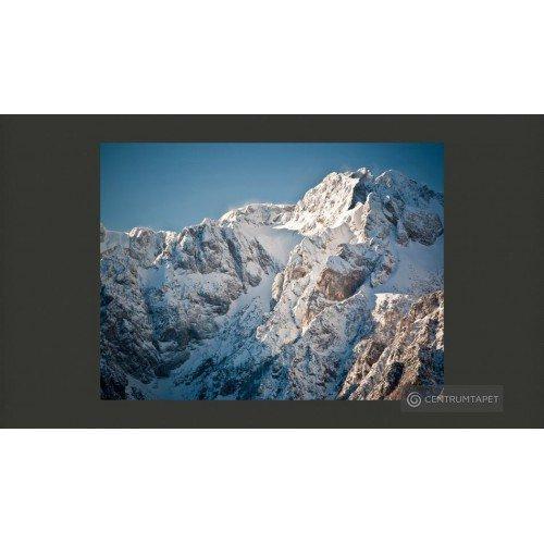 Fototapeta Zima w Alpach...