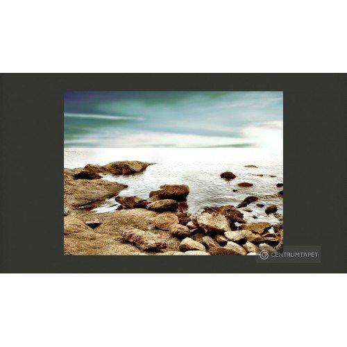 Fototapeta Skalista plaża...