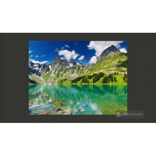 Fototapeta Górskie jezioro...