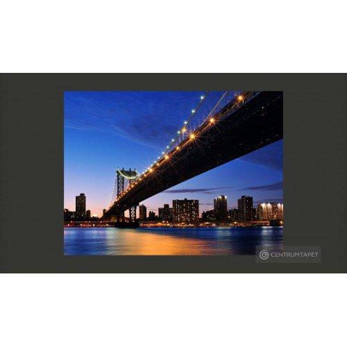 Fototapeta Oświetlony Most...