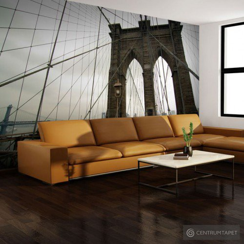 Fototapeta Widok z Mostu Brooklińskiego 100404-132
