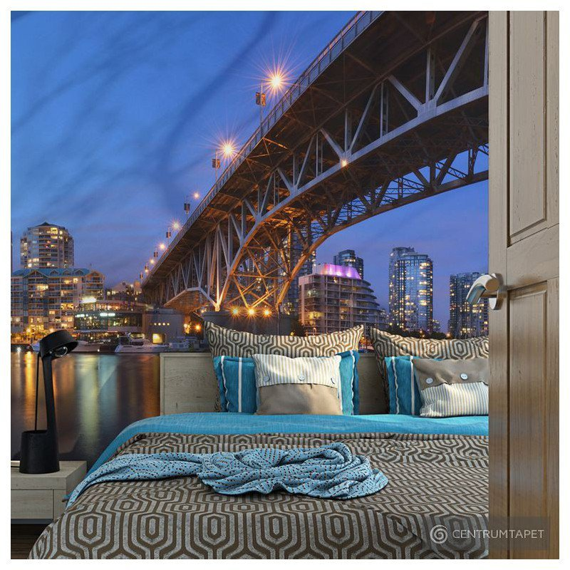 Fototapeta Granville Bridge - Vancouver (Kanada) 100404-155