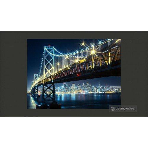 Fototapeta Bay Bridge nocą...