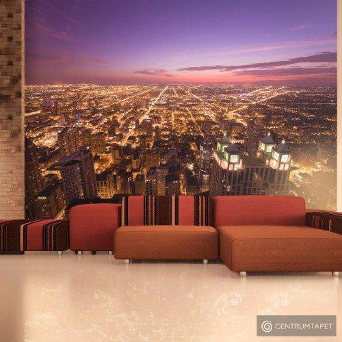 Fototapeta Amerykańskie Chicago nocą 100404-17