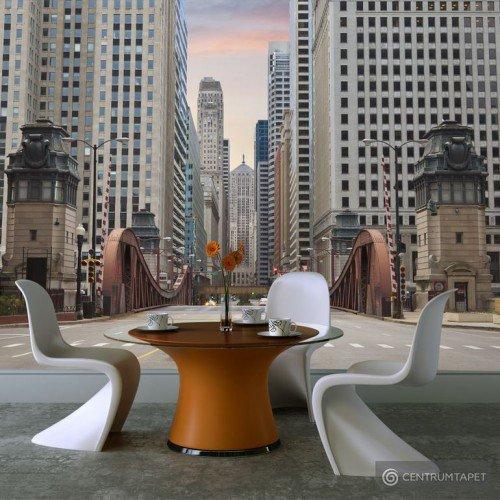Fototapeta Chicago street 100404-26