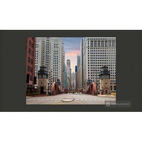 Fototapeta Chicago street...