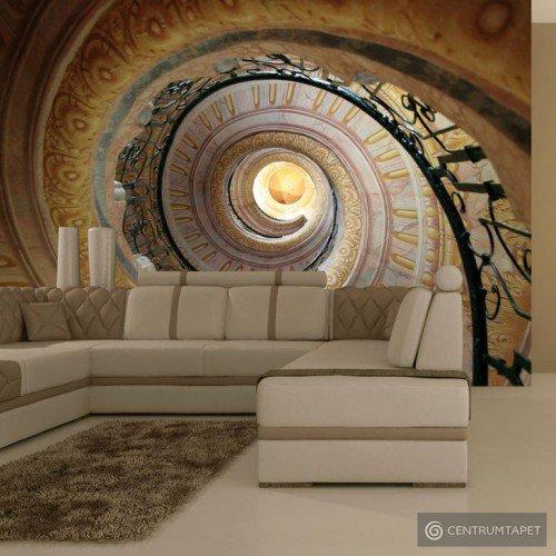 Fototapeta Decorative spiral stairs 100404-34