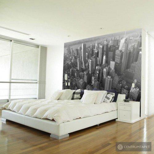 Fototapeta Nowy Jork: wieżowce (widok z lotu ptaka) 100404-42
