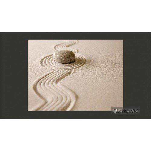 Fototapeta Zen sand garden...