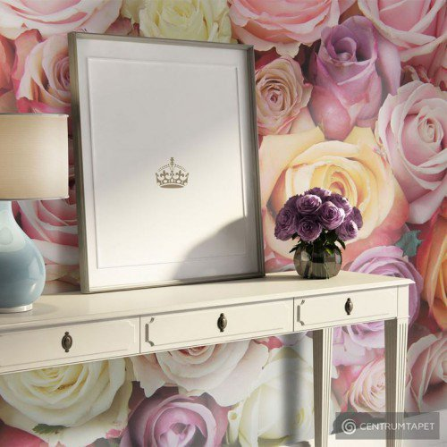 Fototapeta Pastelowe róże 100406-150