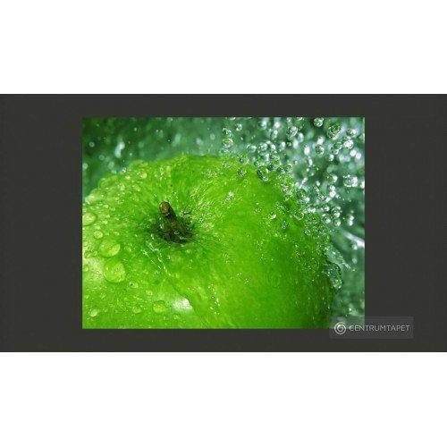 Fototapeta Zielone jabłko...