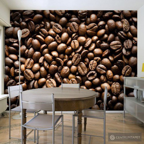 Fototapeta Roasted coffee beans 100408-14