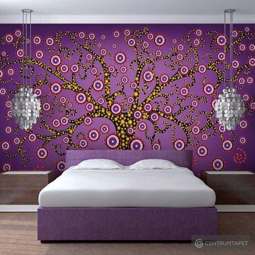 Fototapeta Abstrakcja: drzewo (fioletowy) 10040901-45