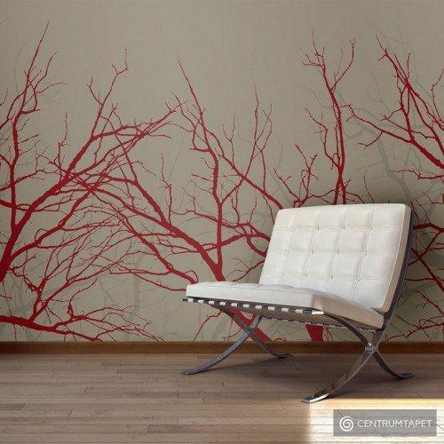 Fototapeta Red-hot branches 10040903-62
