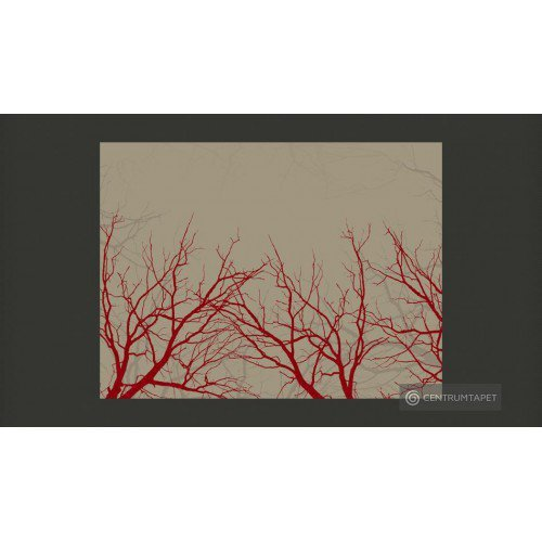 Fototapeta Red-hot branches...