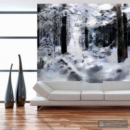 Fototapeta Zimowy las 10040903-83