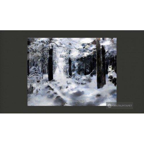 Fototapeta Zimowy las...