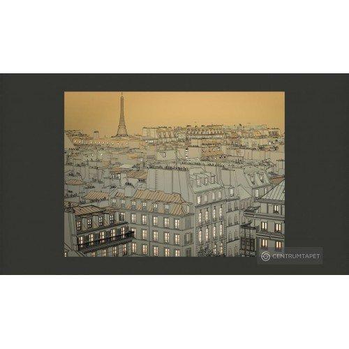 Fototapeta Dobranoc Paryżu...