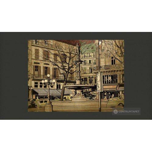 Fototapeta Parisian...