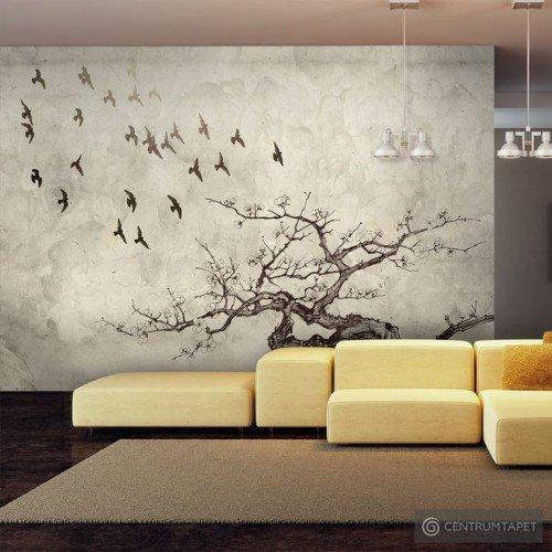 Fototapeta Flock of birds 10040905-118