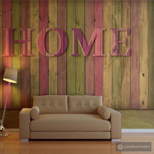 Fototapeta Dom (różowy) 10040905-132