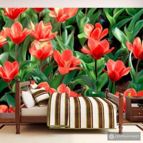 Fototapeta Painted flowers 10040906-4