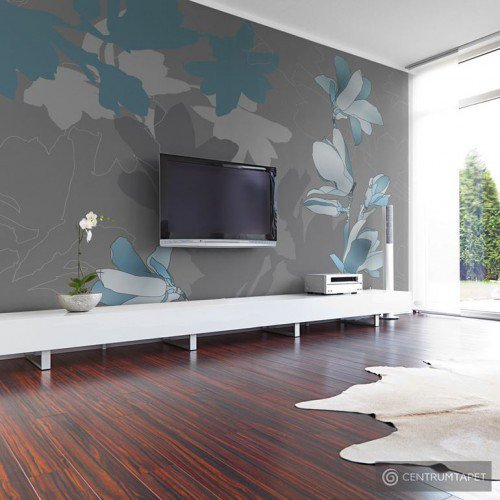 Fototapeta Niebieskie magnolie 10040906-9